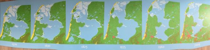Zuiderzeeroute - 5 Karten