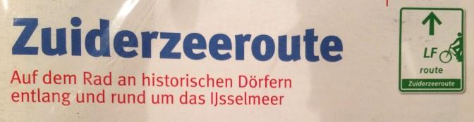 Zuiderzeeroute - Deckblatt