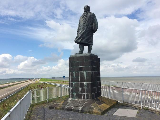 Zuiderzeeroute - Deichdenkmal