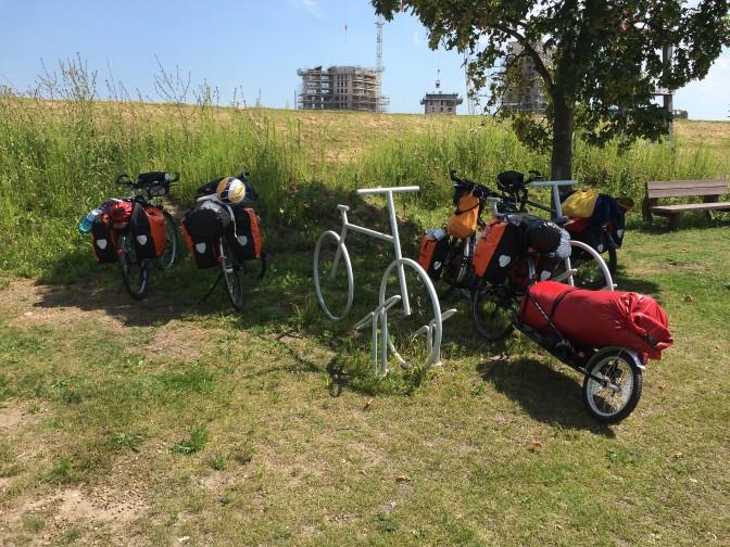 Zuiderzeeroute - Fahrräder