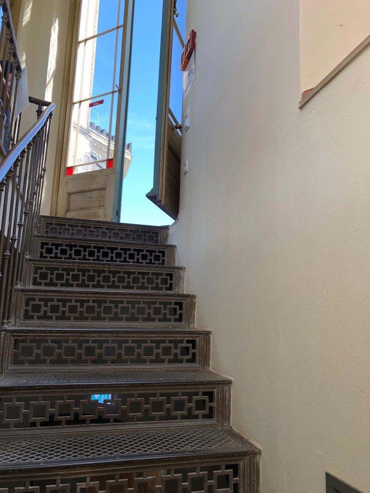 Terrassenaufgang